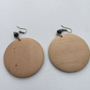Jewelry - 3 for $30 Celtic Knot Wooden Disc Dangle Earrings